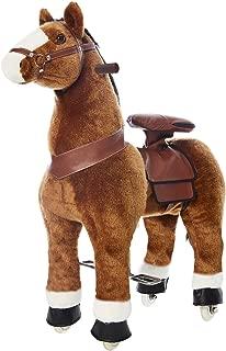 Basic Fun Inc Ponyrider 白色小马驹,浅棕色