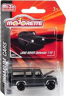 Land Rover Defender 110 Matt Gray Premium Cars 1/60 Diecast Model Car by Majorette 3052MJ5