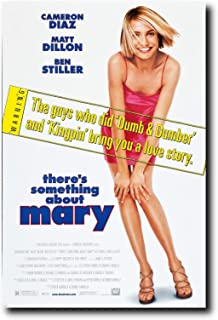 Mile High Media There's Something About Mary Movie Poster 24x36 Inch Wall Art Portrait Print - Ready to Frame