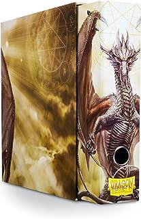 Arcane Tinman Slipcase Binder: Dragon Shield 9 Pocket Dragon Art White