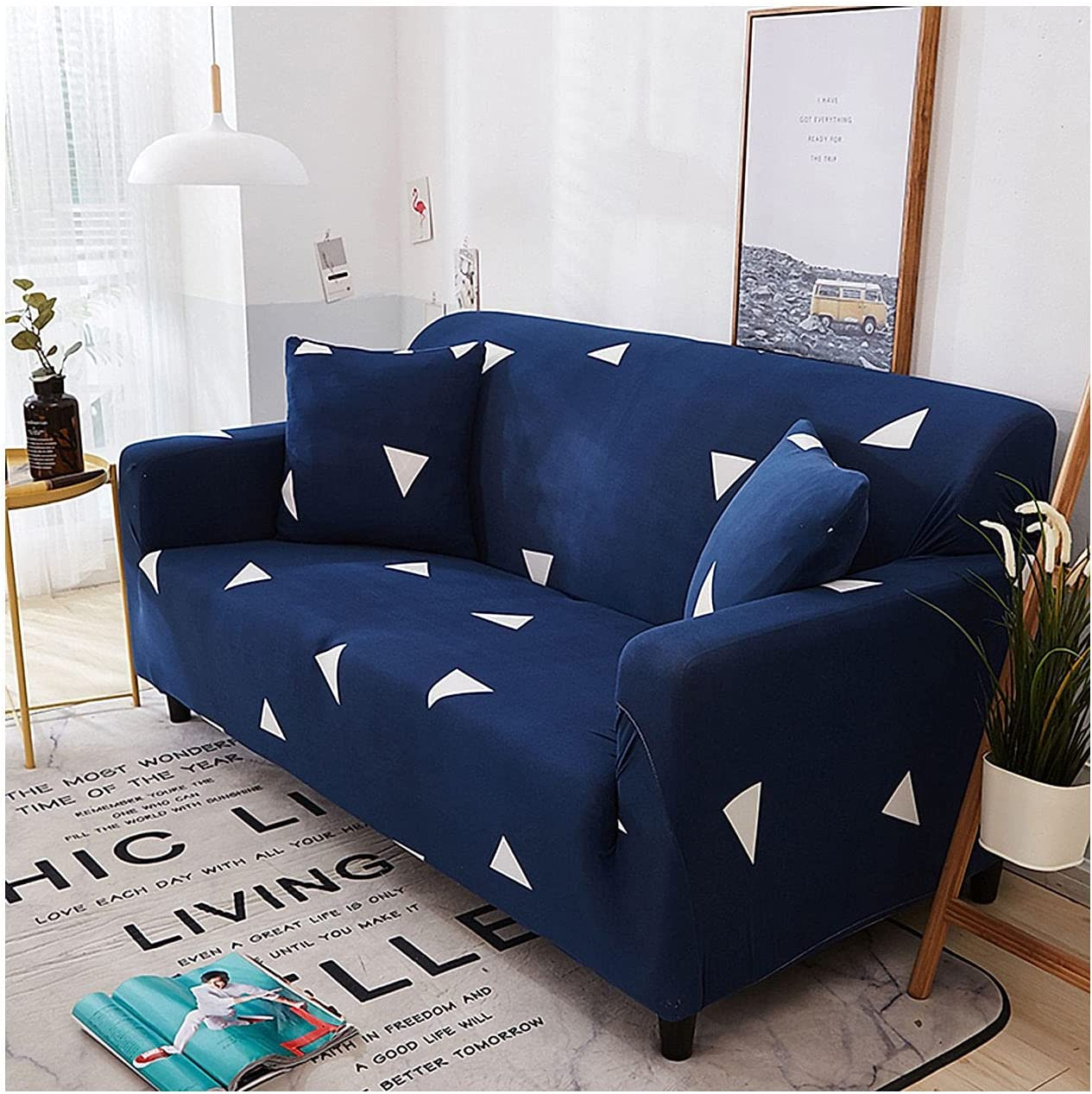 Spandex Stretch Sofa Beauty products Slipcover Non Cover wit Popular shop is the lowest price challenge Durable Couch Slip