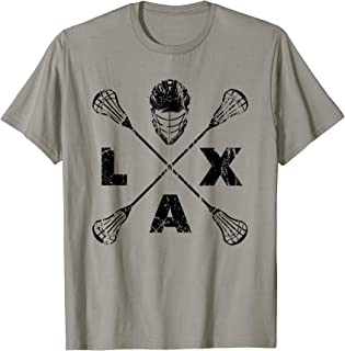 Lacrosse LAX Cross Axis T-Shirt Black Colorway
