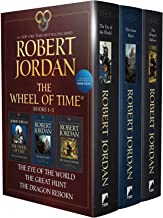 Wheel of Time Paperback Boxed Set I: The Eye of the World, The Great Hunt, The Dragon Reborn