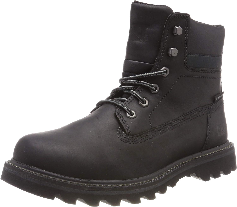 CAT Footwear Herren DEPLETE WP Klassische Stiefel, Schwarz (schwarz 0), 40 EU