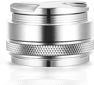 58mm コーヒーディストリビューター/レベラー & ハンドタンパー 58mm ポルタフィルター対応 両面 深さ調節可能 プロフェッショナルエスプレッソハンドタンパー