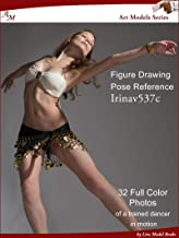 Art Models IrinaV537c: Figure Drawing Pose Reference (Art Models Poses) (English Edition)