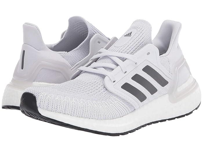 adidas Running  Ultraboost 20 (Dash Grey/Grey Five/Footwear White) Womens Running Shoes