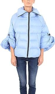 SUNSTRIPES Luxury Fashion Womens MONAVIO Light Blue Down Jacket   Fall Winter 19