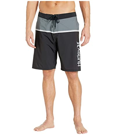 Hurley 20 Phantom Get Blocked Boardshorts (Black) Men