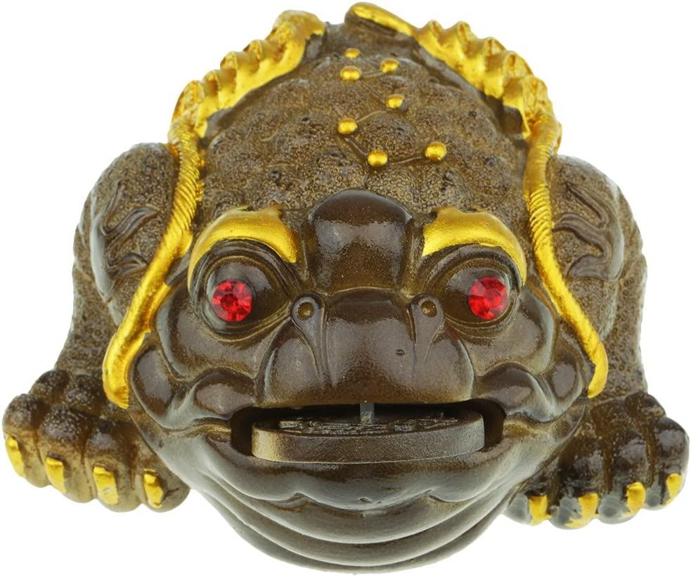 LoveinDIY Resin Jin Chan San Antonio Mall Frog lowest price Tea Pets Chinese for Tray Gong