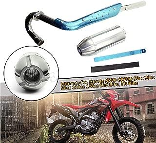 FLYPIG Muffler Exhaust Pipe Kit for Honda XR50 CRF50 XR CRF 50 70 Pit Dirt Bike