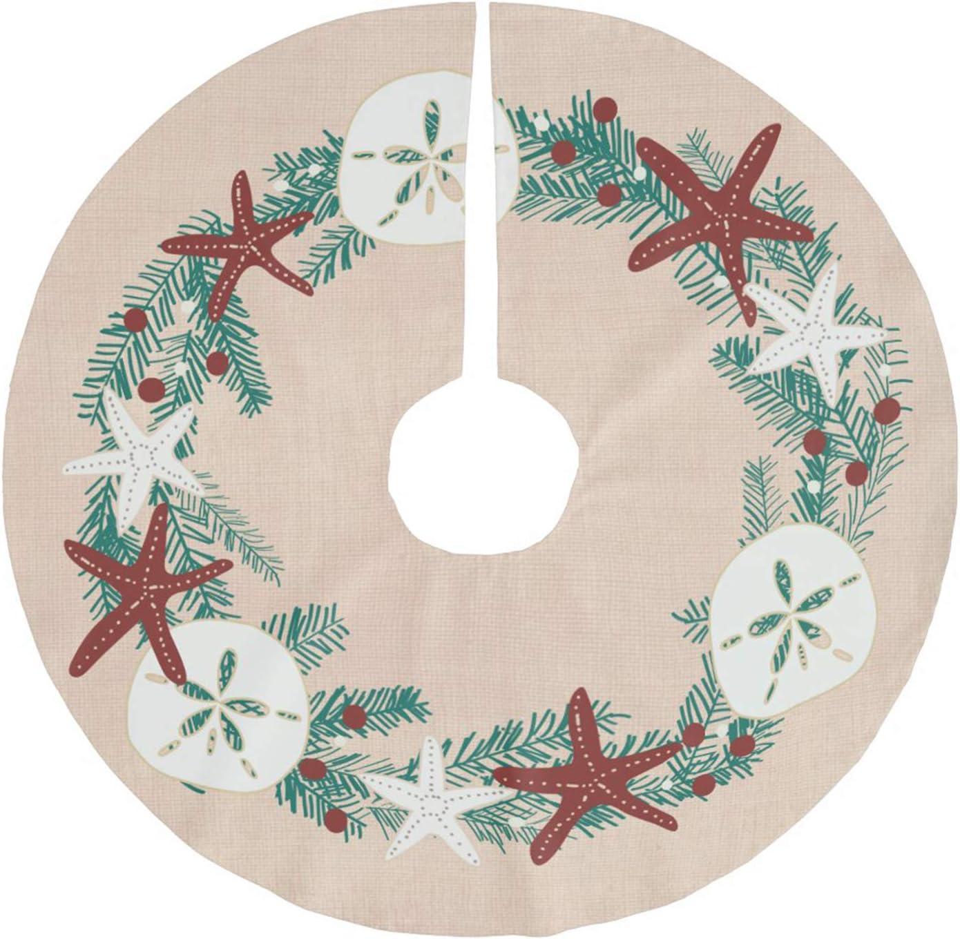 Christmas Tree Skirt Rare Luxury goods Xmas Mat Decorat Trees