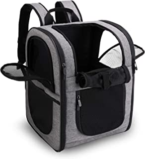 apollo walker Pet Carrier Backpack for Large/Small Cats and Dogs, Puppies, Safety Features and Cushion Back Support | for ...