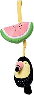 Manhattan Toy Toucan Crib & Baby Travel Accessory Brahms's Lullaby Pull Musical Toy