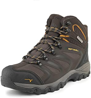 NORTIV 8 Men's Ankle High Waterproof Hiking Boots Outdoor...