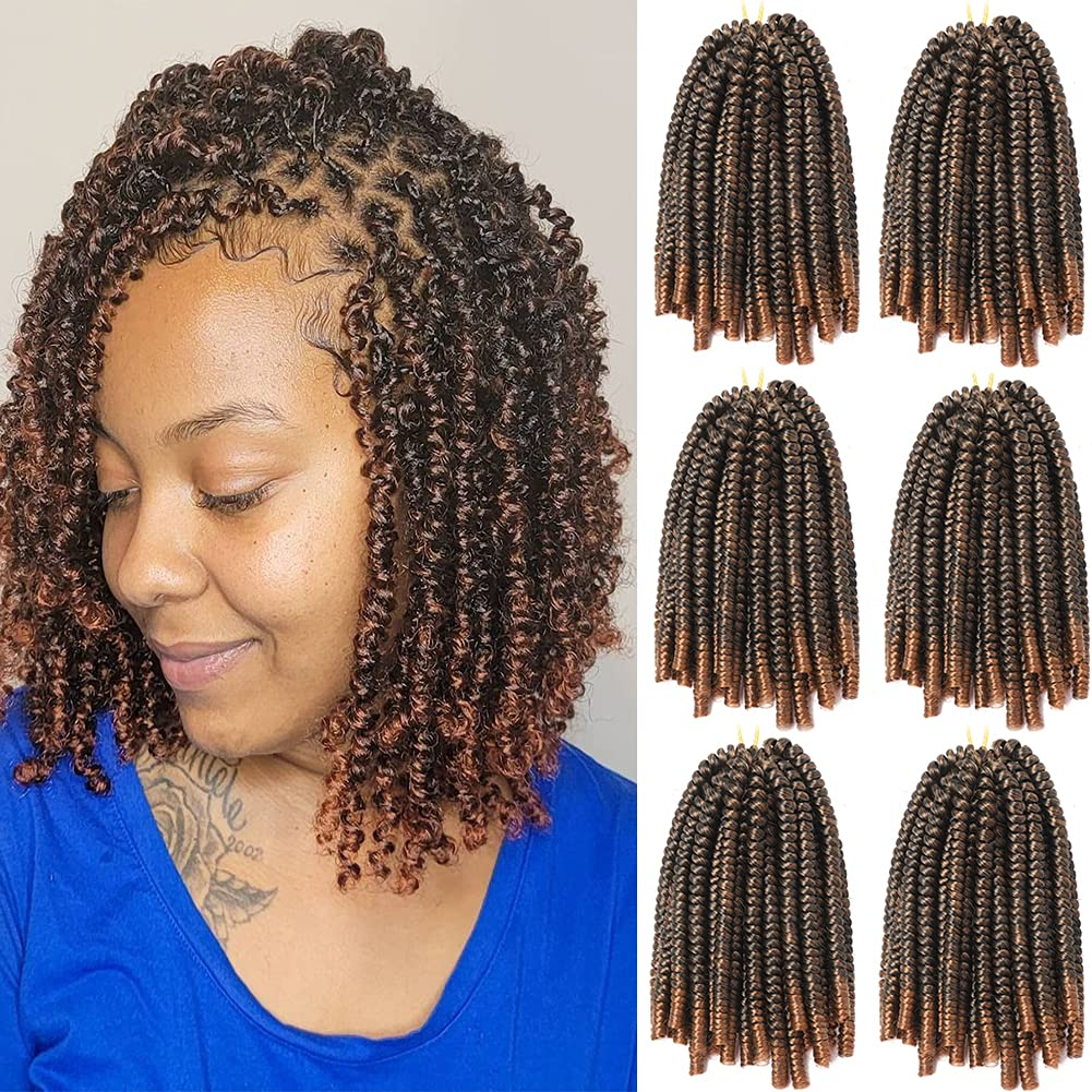 Raleigh Mall Spring Twist Crochet Braids Hair 8 New product! New type 2 Synthetic Inch Packs Braidi