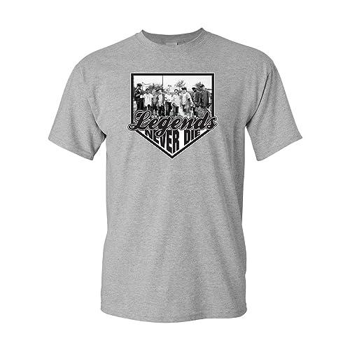 5d0c655f7 Jacted Up Tees Legends Never Die - The Sandlot Kids Men's T-Shirt Ships from
