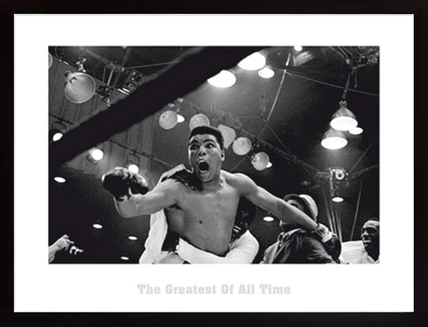 Frame USA Ali - Greatest Poster Black Simply OFFicial Super intense SALE x 31.5 Poly
