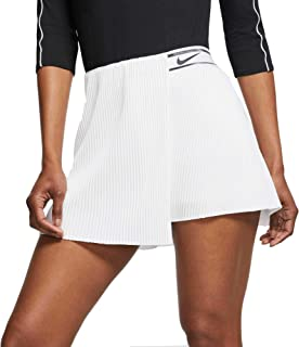 Nike Women's Court Slam Tennis Skirt - Black/Black, X-Small