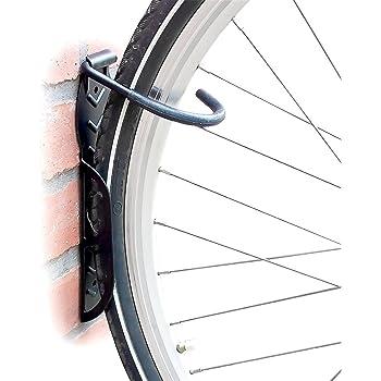 Set de 2 soportes de pared para bicicleta - Soporta hasta 25 kg cada uno