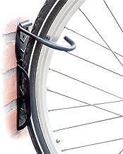 Relaxdays Fietshouder set van 2, fiets muurbeugel, om op te hangen, zwart
