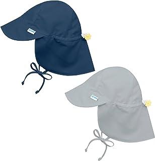 i Play 2PK UPF 50+ Sun Protection Flap Sun Hats Baseball Brim Hat Beach Hat Navy
