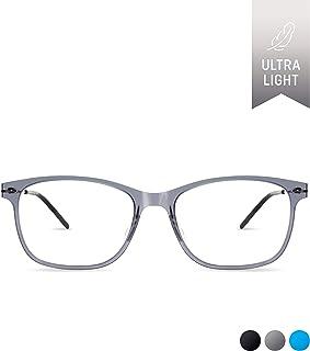 716ae05beb3 i-FIT 104 Lightweight Eyeglass Frame by SQV Rectangle Square Oval Clear  Lens Designer Eye