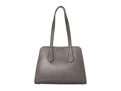 Furla Diletta Large Satchel (Asfalto) Handbags