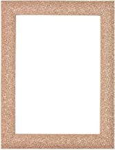 "Rose Gold Colour Stardust Photo Frame | Picture Frame | Poster Frame Ready to hang or stand with MDF backing board - Size 10"" x 8"" - Stardust-2-rosegld-10-8"