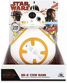 Disney Star Wars The Last Jedi BB-8 Light-Up Coin Bank