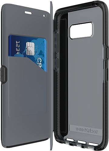 wholesale Tech21 outlet online sale Evo Wallet Case sale for Galaxy S8 - Black online