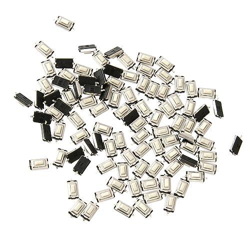 100pcs 3x6x2.5mm Botón Táctil Interruptor del Empuje del Interruptor del Tacto Micro Interruptor SMD