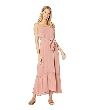 Flynn Skye Margo Maxi Crinkle Dress (Pink Crinkle) Women