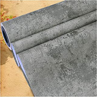TJLMCORP - Papel tapiz de muro de hormigón, imagen de textura de fondo de alta resolución - Mural de pared extraíble | Papel pintado autoadhesivo - 15.7 * 118 pulgadas (Color 2)