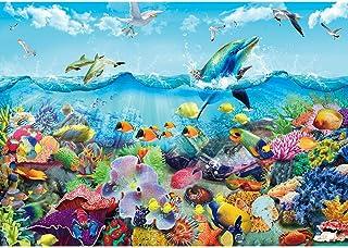 Puzzle de 1000 pièces - Puzzle classique coloré pour adultes et enfants à partir de 14 ans - Impossible puzzle d'adresse p...