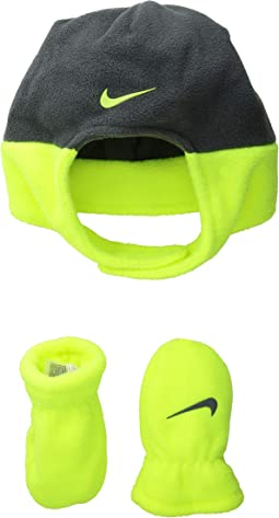 Swoosh Baby Trapper Cap & Mitt Set (Infant/Toddler)