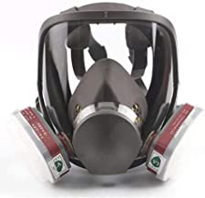 Head Mask Full Face Ventilative Biochemical (Respirator Canister) Gas-Proof, Dedicated to Public Safety Protection, with F...