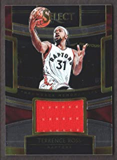 2018-19 Select Basketball Throwback Memorabilia #TM-TRS Terrence Ross Jersey