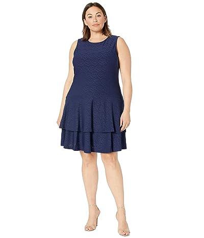 MICHAEL Michael Kors Plus Size Floral Jacquard Sleeveless Dress Women
