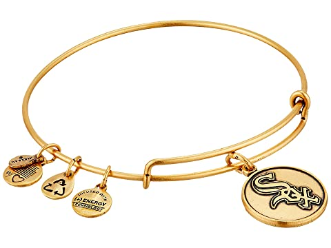 Mlb® Chicago White Sox Charm Bangle, Rafaelian Gold Finish