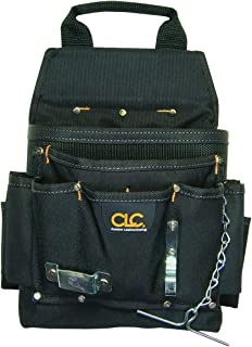 CLC Custom Leathercraft 5505 Professional Electrician's Tool Pouch, Ballistic Poly, 12Pocket