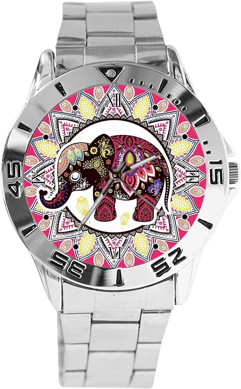 India Style Elephant Totem Design Analog Silv Watch Quartz Surprise Super-cheap price Wrist