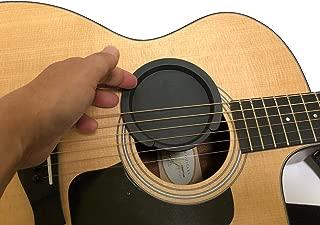fieldlabo サウンドホールカバー ギター 弱音器 ミュート 消音 夜間練習 アコギ エレアコ フィードバック防止 (ホールカバー小)