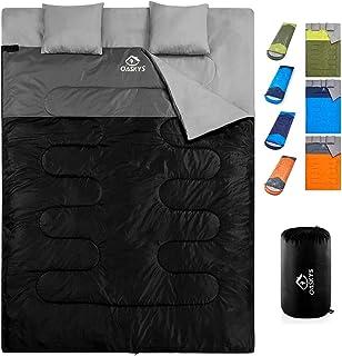 oaskys Camping Sleeping Bag - 3 Season Warm & Cool...
