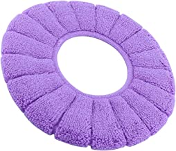 Toilet Seat Cover Washable Lid Cloth Top Pads Bathroom Closestool Protector 1Pc