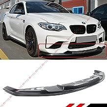 Fits for 2016-2019 BMW F87 M2 MT Style Carbon Fiber Front Bumper Lip Splitter Spoiler