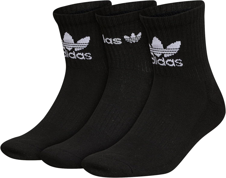 adidas Originals Mens Icon Cushioned Quarter Socks (3-pair)