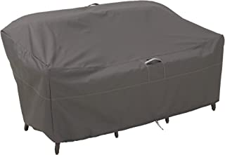 Classic Accessories 55-150-035101-00 Ravenna Patio Loveseat Cover, Premium Outdoor Furniture Cover with Durable and Water ...