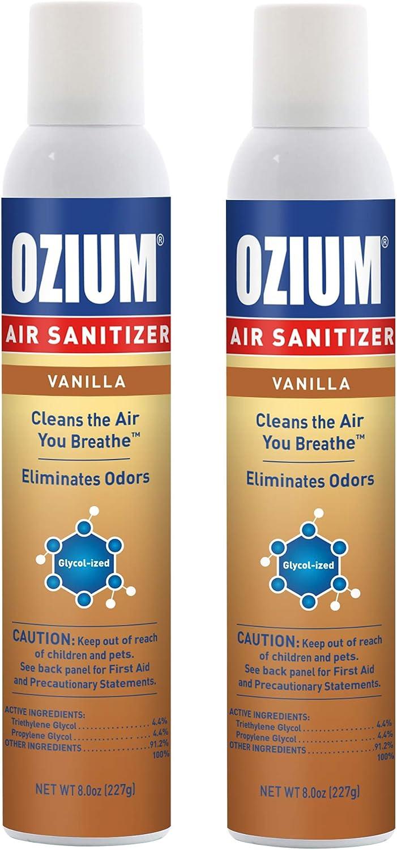 Ozium Max 58% OFF A807035 8 Oz. Air Sanitizer Homes Popular product for Eliminator C Odor