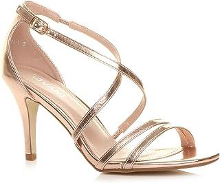 Ajvani Women's High Heel Sandals Shoes Size